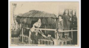 Grande exposition coloniale au Parc de Tennoji ( 明治記念拓殖博覧会 (台湾土人ノ住宅及其風俗)