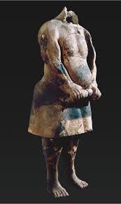 Statue en terre-cuite d'un hercule de foire (Photo reprise d'un dossier pédagogique du British Museum)